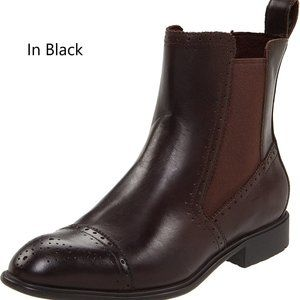 ROCKPORT - Black Leather Chelsea boots